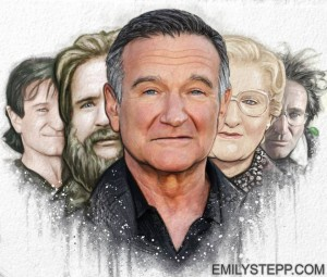 Amazing Robin Williams Drawing